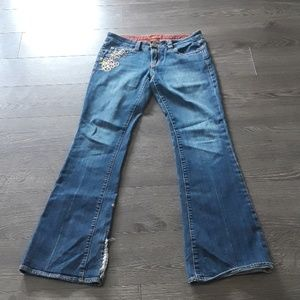 Yank embroidered Jeans size29